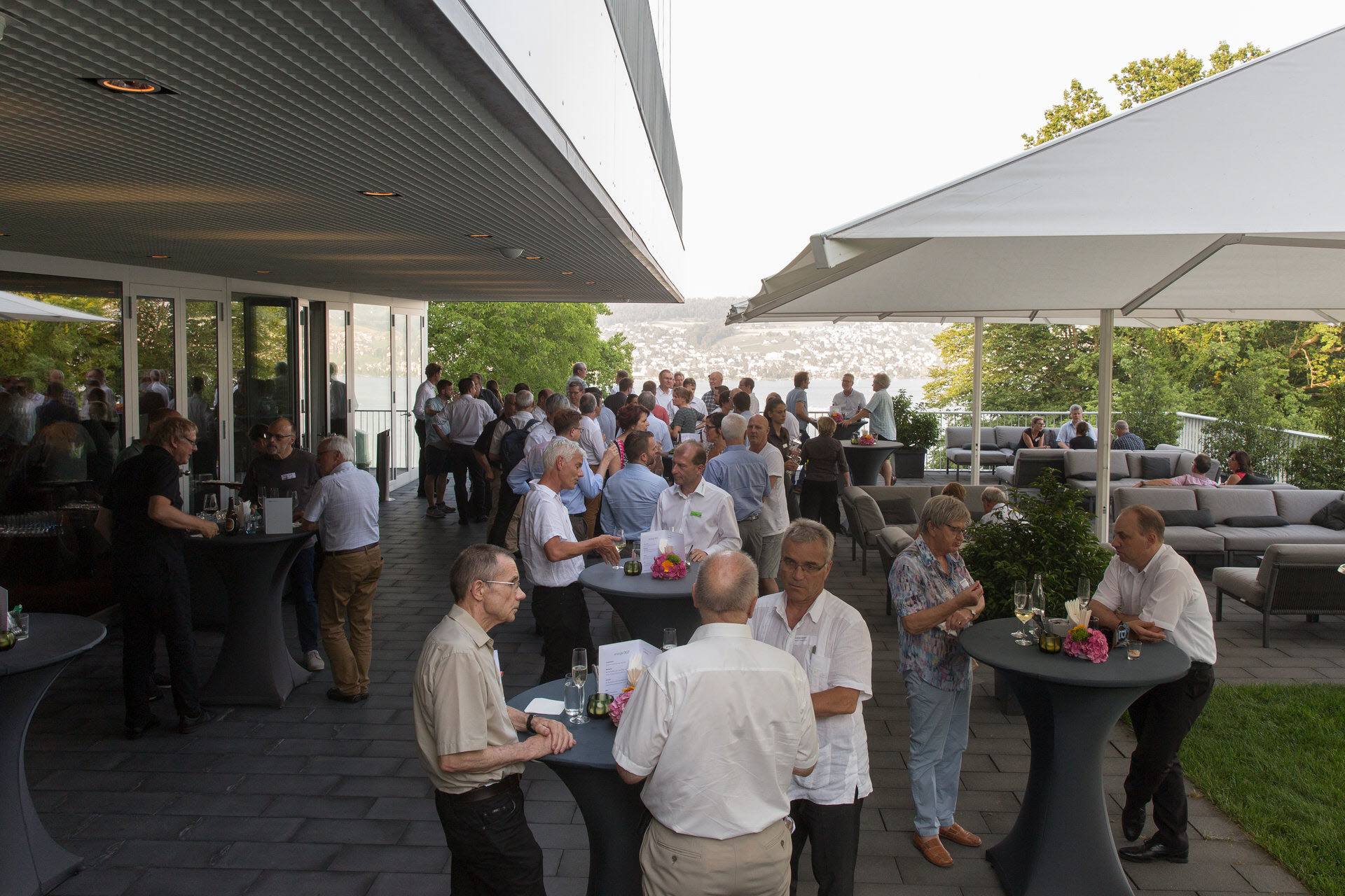 Apero am Networking-Anlass 2019